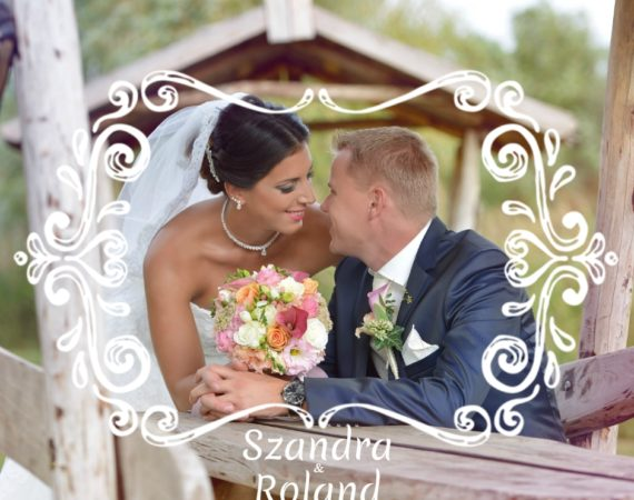 Szandra és Roland esküvője